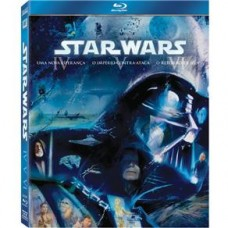 Blu-Ray - Box Star Wars: A Trilogia Original - 3 Discos