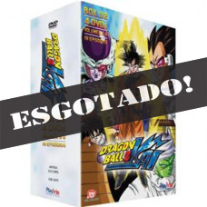 DVD - Box 2 Dragon Ball Z Kai - Volumes 5, 6, 7, 8 - 4 Discos